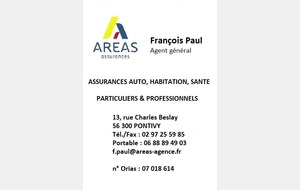 AREAS - FRANCOIS PAUL